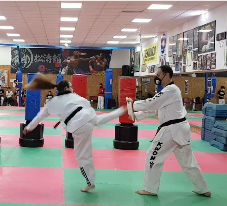 miopie taekwondo)